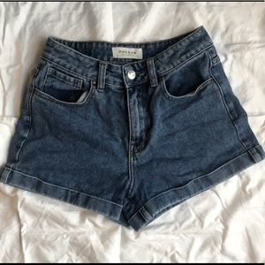 Pacsun High-Waisted Mom Shorts
